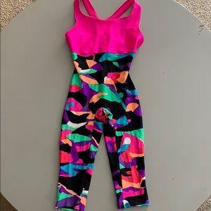 Other - Adorable Vintage Bodysuit Leotard! Bright colors!